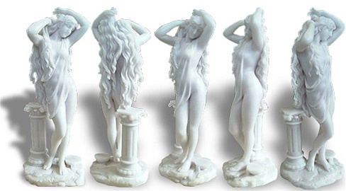 qualities in a lady - statue