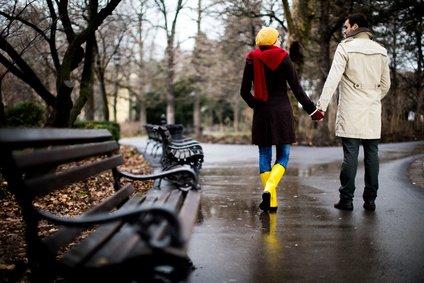 relationship advice - couple walking