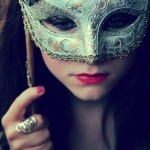 photo sharing - behind a mask