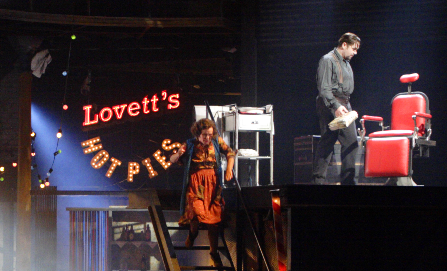 Picture taken from the stage production of Sweeny Todd