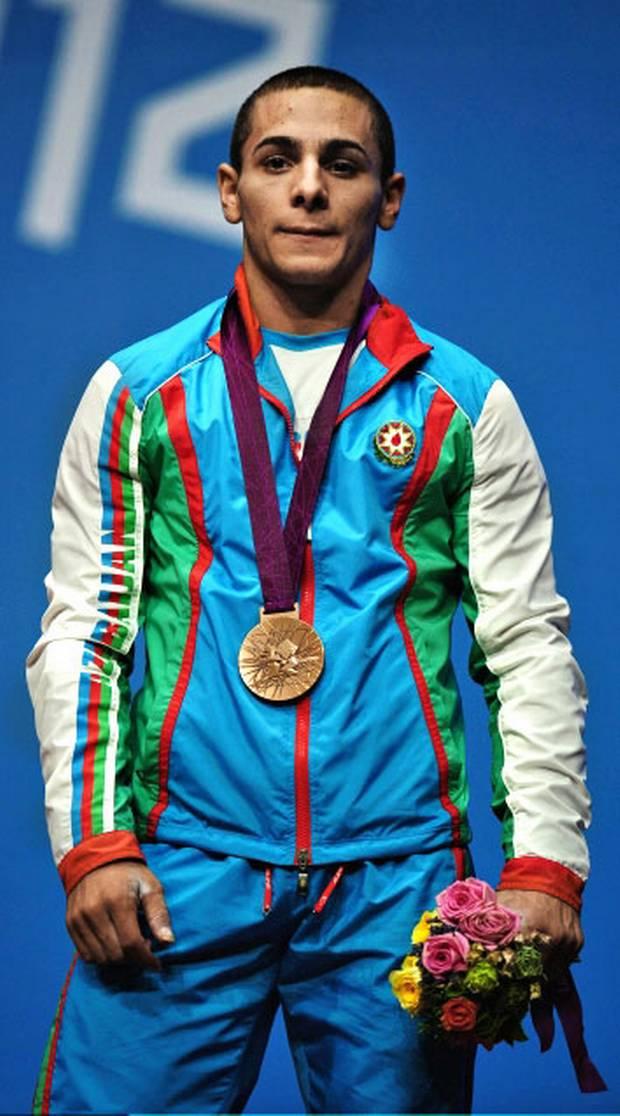 London 2012 weightlifter Valentin Hristov