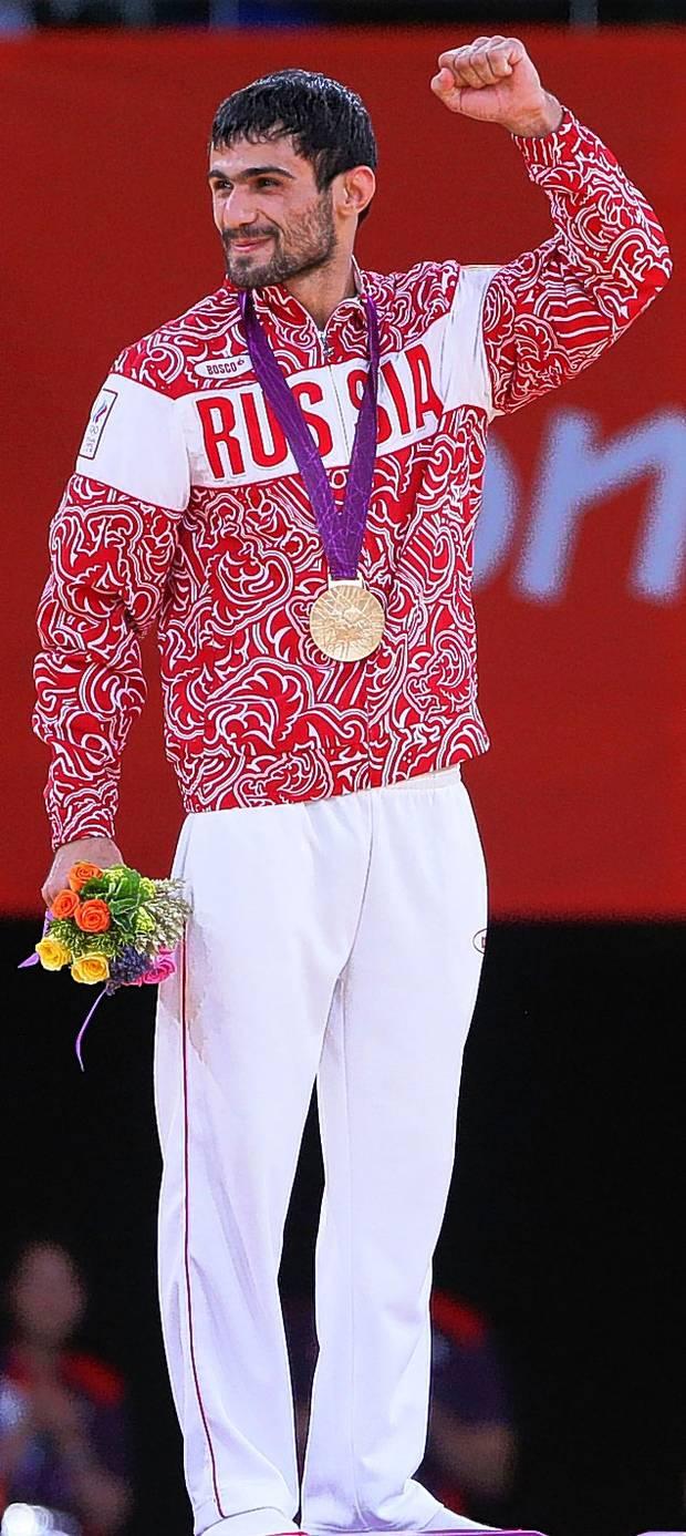 London 2012 judo gold medallist Arsen Galstyan