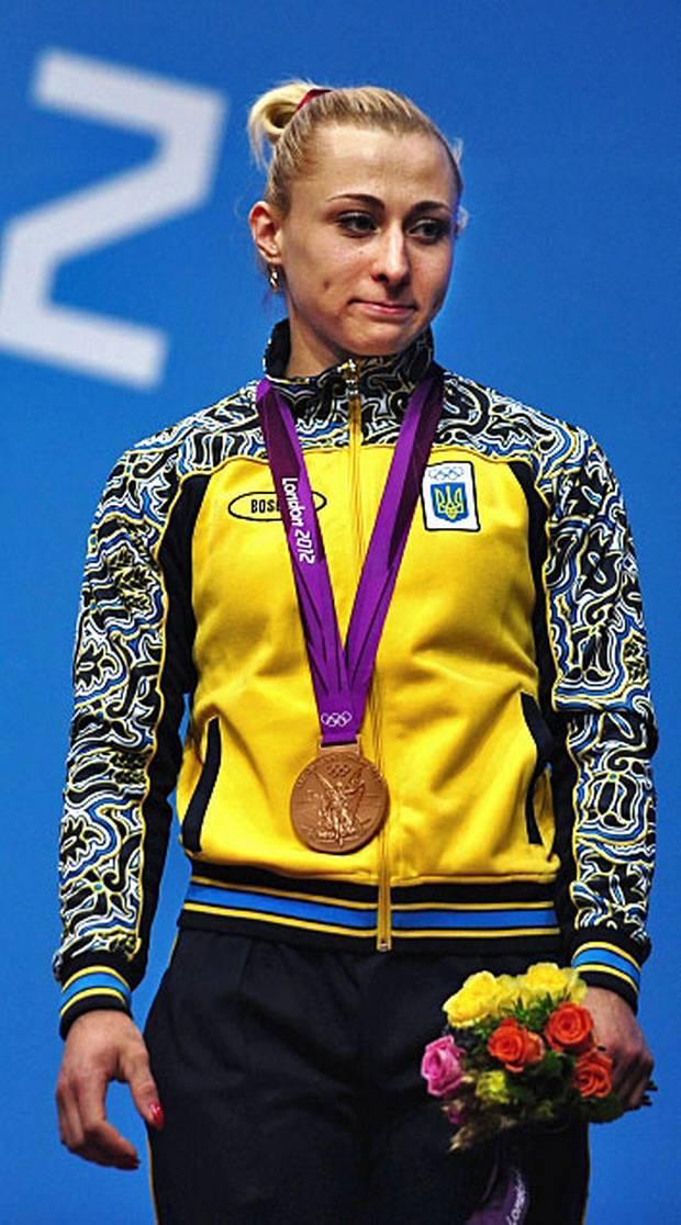 London 2012 weightlifter Yuliya Kalina