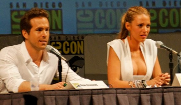 Martin Campbell, Ryan Reynolds, Blake Lively, Peter Sarsgaard, and Mark Strong