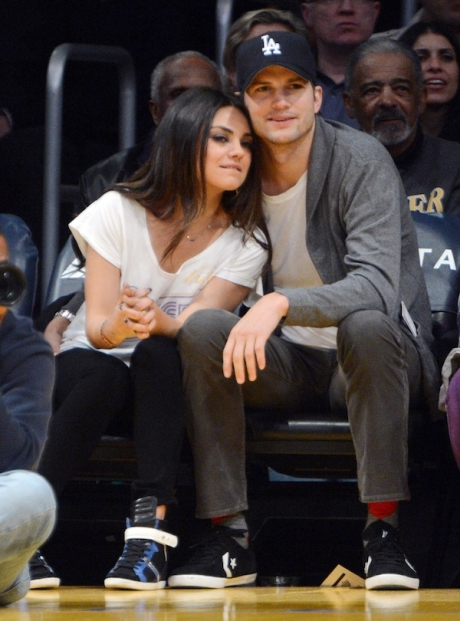 mila mila kunis and ashton kutcher