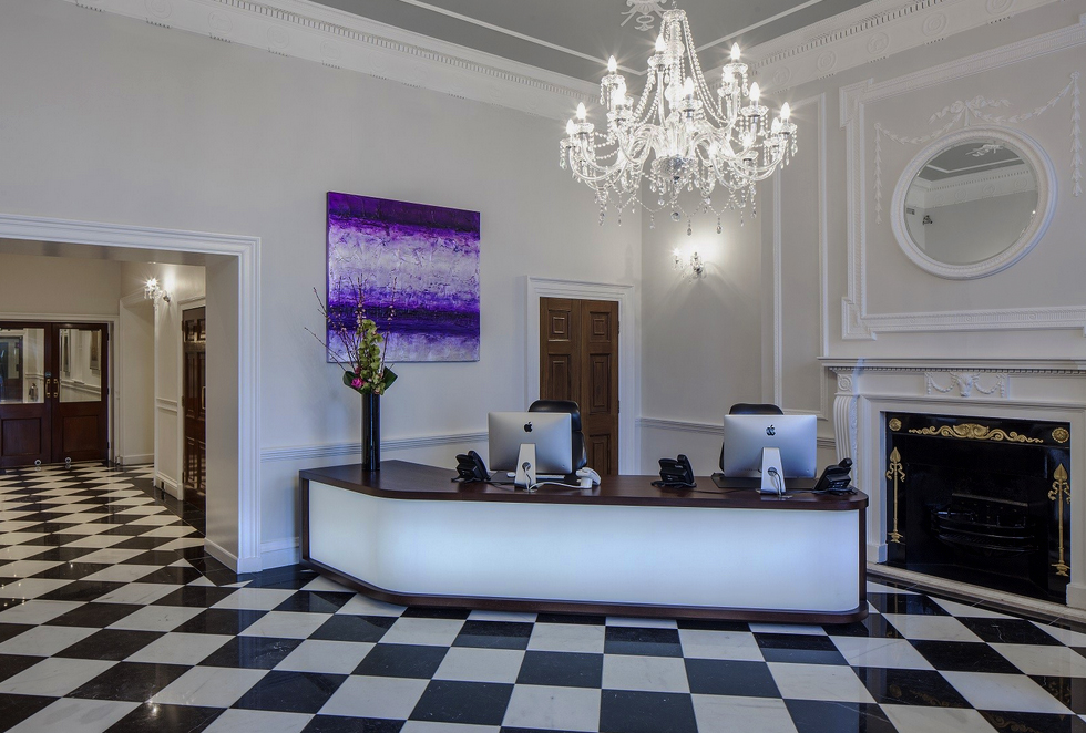 Reception at our Mayfair Office